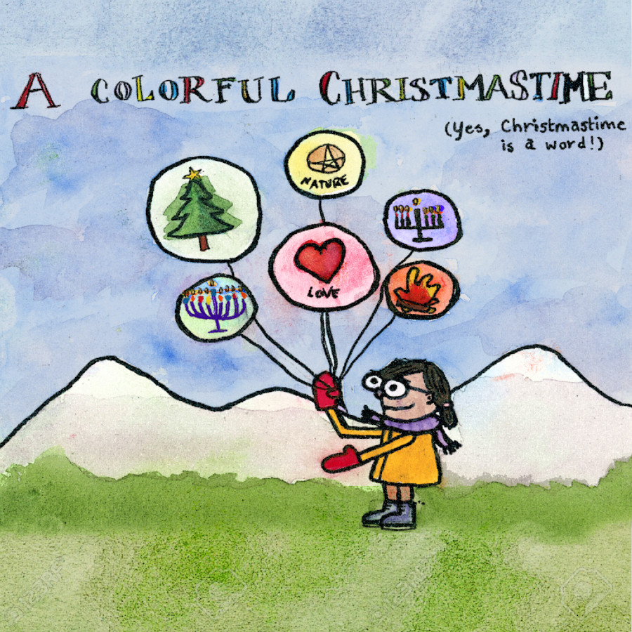 Michelle Chamuel – A Colorful Christmastime
