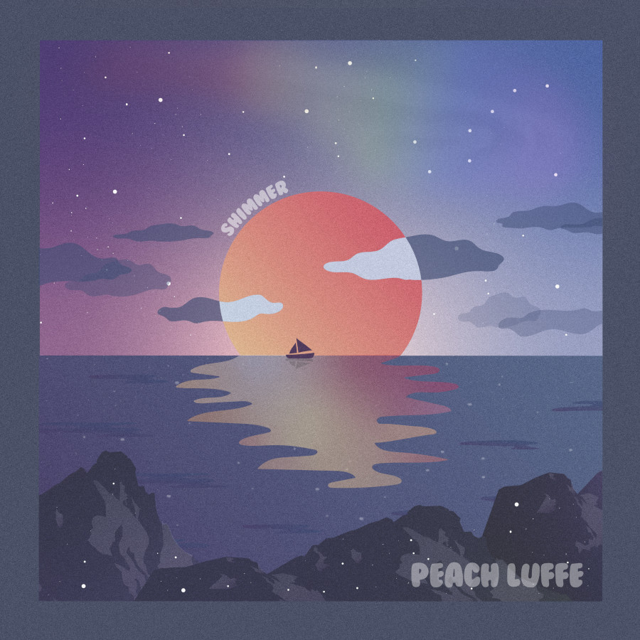 Peach Luffe – Shimmer
